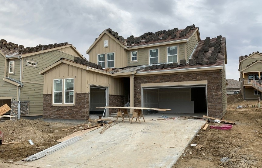 New home at 16332 Sand Mountain Dr by Lennar | Anthem Highlands
