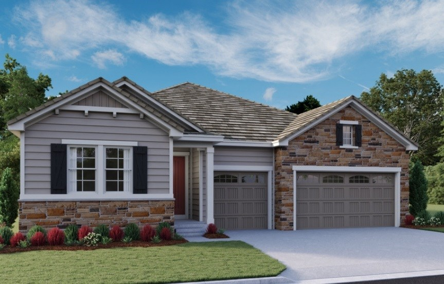 Darius, a Beautiful Colorado New Home by Richmond American Homes