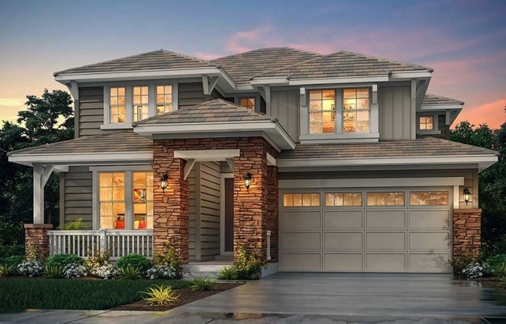 New home at 16282 Sand Mountain Dr by Lennar | Anthem Highlands