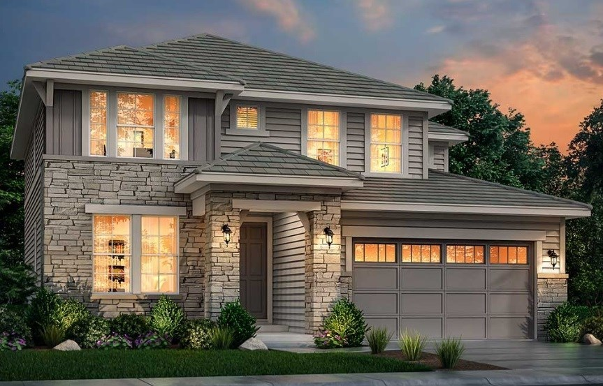 New home at 3374 Pacific Peak Dr by Lennar | Anthem Highlands
