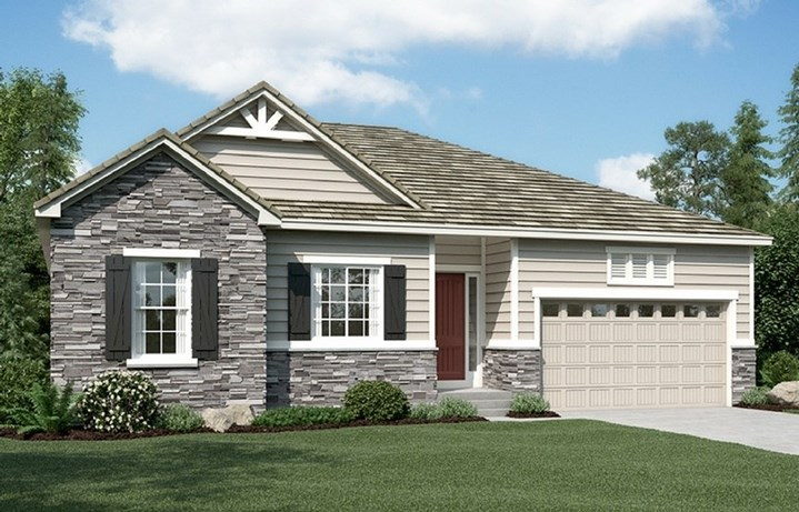 New home at 16323 Ute Peak Way by Richmond American | Anthem Highlands, Broomfield CO