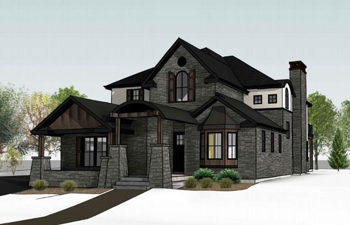 Lancaster, a new, custom plan, by Copper Homes | Anthem Reserve