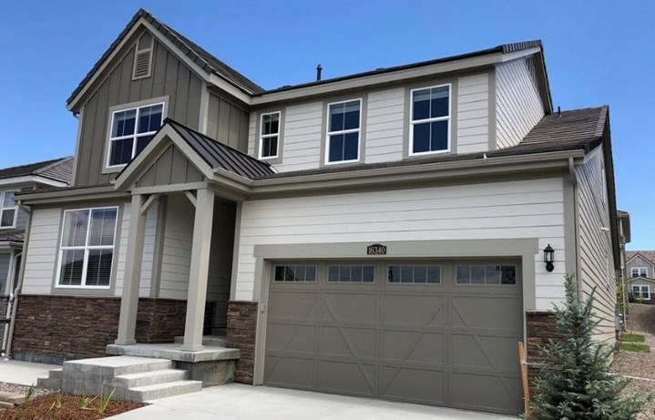 New home at 16340 Jones Mountain Way by Lennar | Anthem Highlands