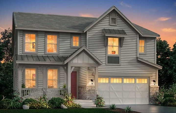 New home at 3264 Pacific Peak Dr by Lennar | Anthem Highlands