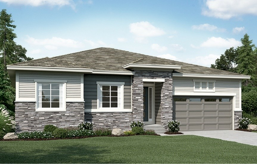 New home at 16293 Ute Peak Way by Richmond American | Anthem Highlands, Broomfield CO
